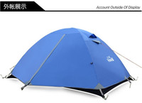 Wholesale Hewolf Camping Tent Person Double Layer Aluminum Pole Season New Spring Outdoor Camping Hiking Waterproof Tents