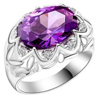 Wholesale The new sterling silver jewelry rings Korean CZ jewelry trade jewelry spot rings for women