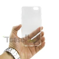 tpu gel case - 0 mm For iPhone Plus S plus inch Sline TPU Gel Soft Case Cover Clear Skin For iphone6s Plus
