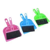 Wholesale FS Hot Car Keyboard Cleaning Whisk Broom Dustpan Set Assorted Color order lt no track