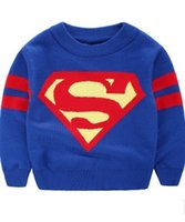 Wholesale New autumn children s clothing boy knit pullover sweater