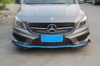 Wholesale Car styling Carbon Fiber Front Splitter For Mercedes Benz CLA250 CLA260 CLA45AMG