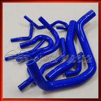 Wholesale Customized Original Logo Radiator Silicone Hose For Honda Civic EK3 B16 B16A B16B Blue