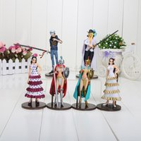 Girls arena movie - 6pcs set cm Anime One Piece Rebecca Trafalgar Law Cavendish Arena PVC Action Figures Toys love and passion country