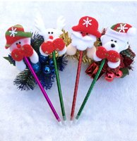 christmas items - Hot selling Christmas pen children Christmas gift items Christmas decorations yzs168