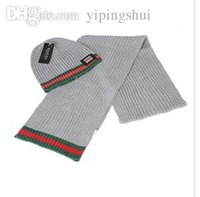 Wholesale Men s and women s hat scarf two suits