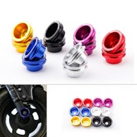 Wholesale 2Pcs Brand New KKMOON Motorcycle Accessories Axle Spool Kit for Honda Ruckus Zoomer Aluminum order lt no track
