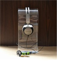 Porte-casque Avis-Livraison gratuite High QualityClear Acrylic U-type Headset Display Rack / Gaming casque porte-affiche / Head-mounted Magic Sound Headphone Stand
