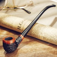Cheap New New fashion High quality 100% Handmade Wooden Briar Tobacco Pipe Smoking Pipe