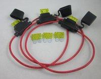 amp kits for cars - Waterproof In Line standard Blade Fuse Holder fuses A Amp kit for car boat bike