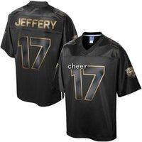 Wholesale 2016 Men s Pro Line Black Gold Collection Chicago Alshon Jeffery Jerseys Football Jerseys Good Quality