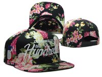 the hundreds snapback - los angeles the hundreds snapback caps hot sale black blue pink floral hats freeshipping
