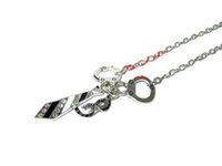 american shades - 12pcs SHADES OF GREY Handcuffs Necktie and Masquerade Mask Charm Necklace