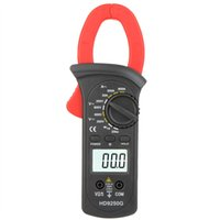 Wholesale HD HD9250G Megohmmeter Digital Clamp Meters Amp Volt Voltmeter Ohmmeter Continuity Tester w LCD Backllight Diode Test A