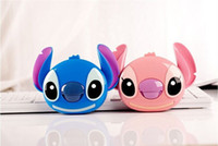 backup android phone - 10400mAh Cartoon Stitch Power Bank For iPhone6 Samsung S5 IOS android smartphones Mobile phone power charger battery backup