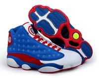 america mid - New Arrival High Quality Cheap Mens Basketball Shoes Retro XIII Athletics Retro XIII Shoes Captain America