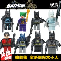 Wholesale Batman series blocks villain toy Superheroes Assembling building blocks Children villain Aberdeen Educational Toys