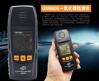 Wholesale GM8805 Portable Handheld Carbon Monoxide Meter High Precision CO Gas Detector Analyzer Measuring Range ppm detector de gas