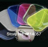 Wholesale 1000 DHL Rubber Magic Non Anti Slip Mat Strong Sticky Pad for Car Novel Car Accessories Anti slip PU Mat