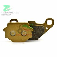Wholesale high quanlity Motorcycle metal rear brake pads FA067 for AEON MY