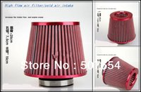 Wholesale High quality High flow cold air intake air filter intake flow filter for many cars