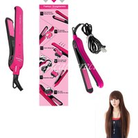 Wholesale 1 Piece Pack Professional Hair Straightener quot Ionic Ceramic Tourmaline Flat Curling Iron V