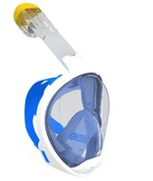 Wholesale Shoppingabc Snorkeling Mask Easy Breath Full Mask for Natural Breathing in Field of Vision Small and Large Size