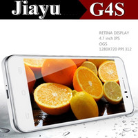 Wholesale Original Jiayu G4S phone jiayu G4 MTK6592 Advanced Octa Core quot GB RAM GB ROM Android MP Smart phones mah battery