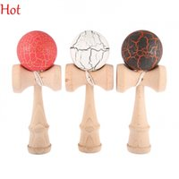 Wholesale Crack Paint Kendama Ball Skillful Jling Game Ball Japanese Traditional Toy Balls Educational Toys For Adult Gift For Children SV017207