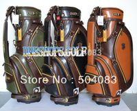 golf bags - New golf bag HONMA Golf cart bags black Brown Army Green Color Standard Ball Package EMS