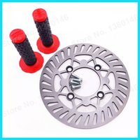 atv brake rotors - 220mm Brake Disc Disk Rotor Bolts Red Hand Grips For Chinese cc cc cc cc Pit Dirt Bike Motorcycle Atv order lt no track
