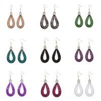 Wholesale 2015 New Fashion Dangle Chandelier Stars Charm Earrings Mesh Network Drop Earring Jewelry Colors Stardust