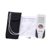 aire digital - KKMOON Handheld High Performance Manometer Air Pressure Gauge Differential Digital Manometer manometro presion aire