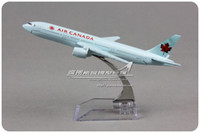air canada airlines - cm Alloy Metal Air Canada Airlines Airplane Model Boeing B777 Airways Plane Model Diecast Toy