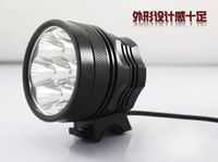 Wholesale LED bike headlights h7 T6 headlight glare at night bicycle lights T6 x18650 suit V Battery Pack Capacity MAH