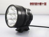 Wholesale LED bike headlights h7 T6 headlight glare at night bicycle lights T6 x18650 suit V Battery Pack Capacity MAH