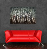 american group shipping - Star wars stormtrooper group wall poster sticker for home decor x60cm x24inch wall art