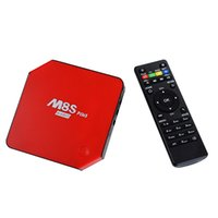 Wholesale New M8S PLUS Quad core Smart TV Box S905 K G G WIFI Full HD Android Media Player