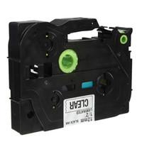 Wholesale Black on Clear Label Tape Compatible for mm TZ TZ AF131 order lt no track