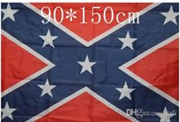 Wholesale 2015 hot sale ft mp Confederate States Rebel Flags Confederate Rebel Civil War Flag National Polyester Flag