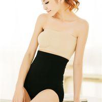Wholesale Fast shipping Fashion Nylon women black nude Waist slimming abdomen stomach panties Durable seamless underwear body shaper