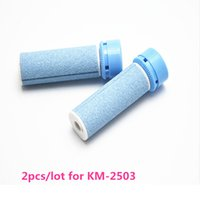 Wholesale 2pcs KM Roller Grinding Head Replacement for Dead Skin Callus Remover Foot Pedicure Exfoliating Heel Cuticles Removal
