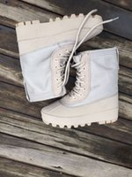 baseball factories - New With Box Factory Boost Duckboot Unisex High Height Increasing Sports Running Shoes Canvas Sneakers