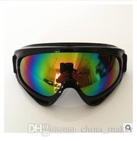 Wholesale 2015 Purchase X400 UV Motorcycle Glasses Protection Outdoor Sports Goggles Motorcycle Off Road Cycling Goggle Glasses Eyewear Lens