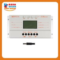 Wholesale MPPT30 A solar charge controller V V auto work with lcd display