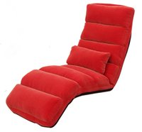classic sofa - Modern Classic Chaise Lounge Chair Indoor Living Room Upholstered Sofa Chair Color Floor Folding Adjustable Recliner Sofa Bed Sleep Lounge