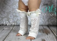 baby down boot - 300pairs baby lace boot cuff trim knit leg warmers Crochet Button Down Boot Cuff Leg Warmers Stockings Boot cuff knee high Socks