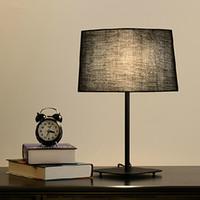 Wholesale Modern Creative Desk Lamps Cloth Art Table Lamp Black White Iron Desk Lamp Drawing Room Bedroom Study Cloth Art Desk Light