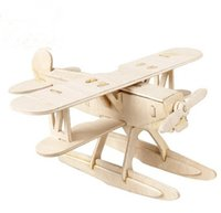 Wholesale 3D stereo jigsaw puzzle wooden wooden adult children s toys can choose a set of