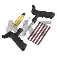 Wholesale 1set Puncture Repair Kits for Car Bike Auto Tubeless Tire Tyre Safety